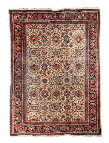 A Mahal Carpet  West Persia, 360cm x 260cm