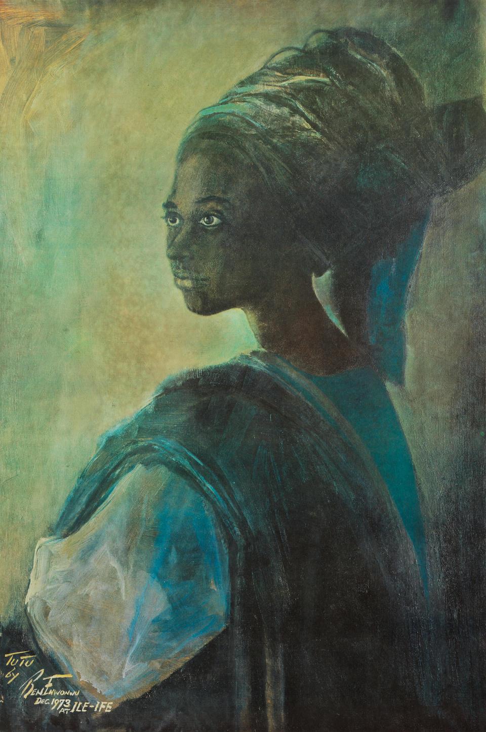 Benedict Chukwukadibia Enwonwu M.B.E (Nigerian, 1917-1994) Tutu