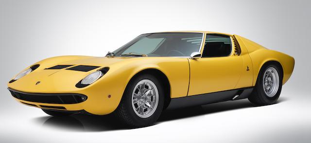 Bonhams Ex Musee Schlumpf Lamborghini Miura P400 S Coupe 1968