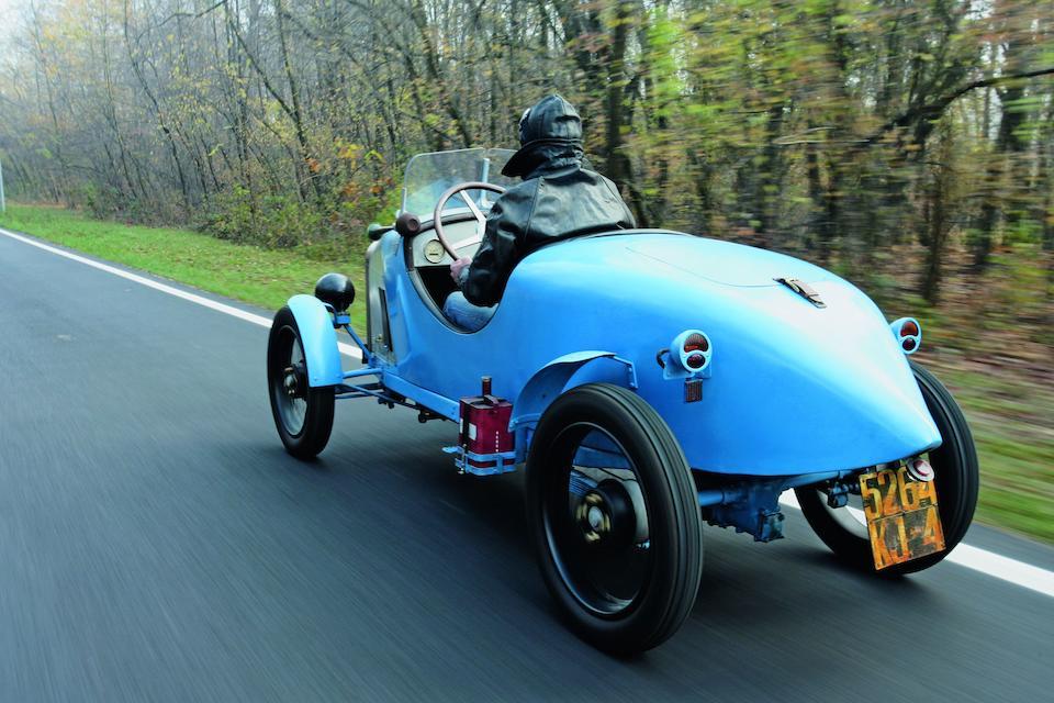 Benjamin 5 HP Type B cyclecar de course 1922