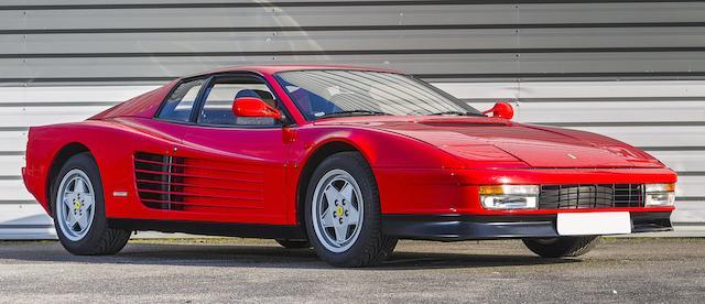 Ferrari Testarossa Coupé 1989