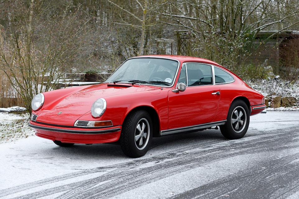 Porsche 911 S 2 litres « empattement court » coupé 1968