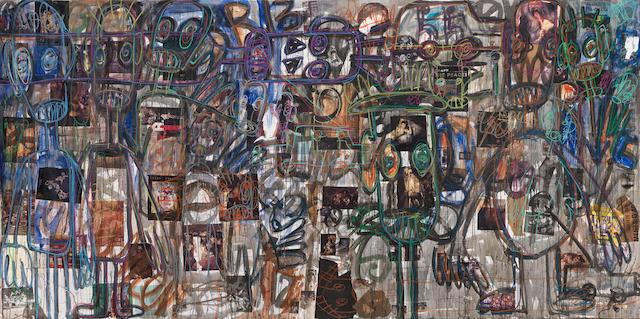 Aboudia Abdoulaye Diarrassouba (Ivorian, born 1983) Untitled