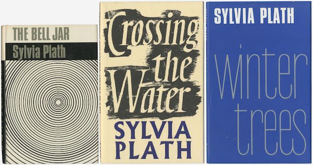 PLATH (SYLVIA) The Bell Jar, small piece cut away from upper fore-corner of front free endpaper [Tabor A4a.3], 1966; idem, paperback edition, 1966, 8vo; and 3 others, including copy 121 (of 400) of Lyonnesse, Rainbow Press, 1971 (13)