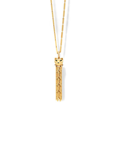 A gem-set 'Panthère' tassel sautoir, by Cartier