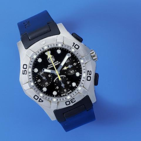 TAG Heuer. A stainless steel automatic chronograph wristwatch  Aquagraph, Ref: CN211A, Circa 2008