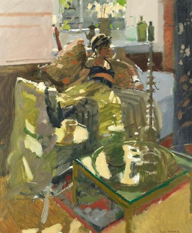 Ken Howard R.A. (British, born 1932) 'Morning sunlight'