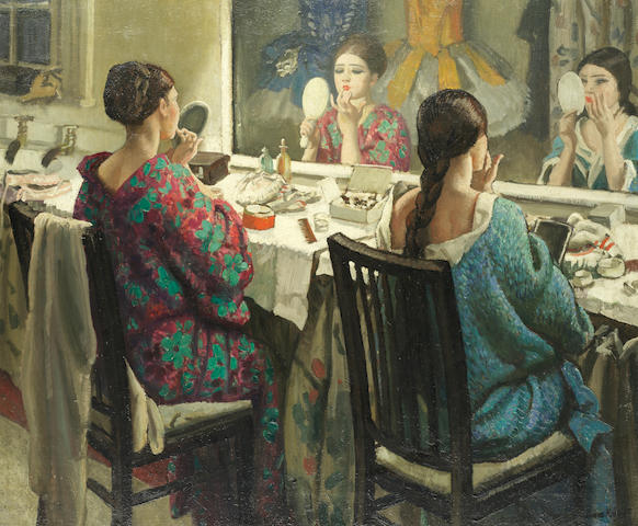Dame Laura Knight, RA, RWS (British, 1877-1970) The Dressing Room