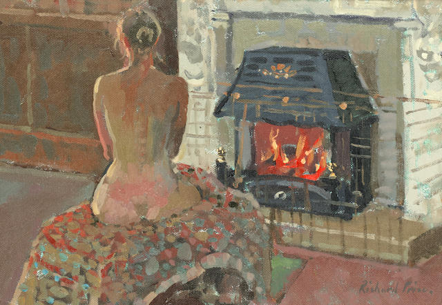 Richard Price (British, born 1962) By the fireside