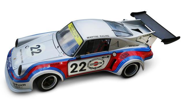 Modèle au 1/8e d'une Porsche 911 Carrera RSR Turbo de 1974,