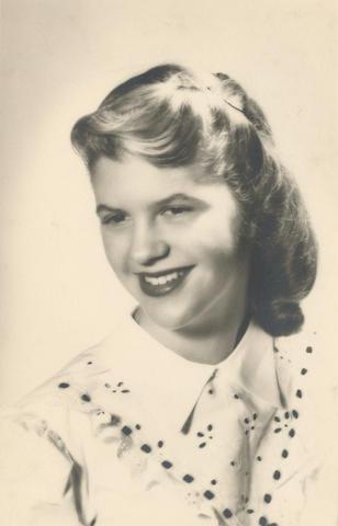 PLATH (SYLVIA) Graduation portrait photograph of Sylvia Plath by Salvatore Simone, [1950]