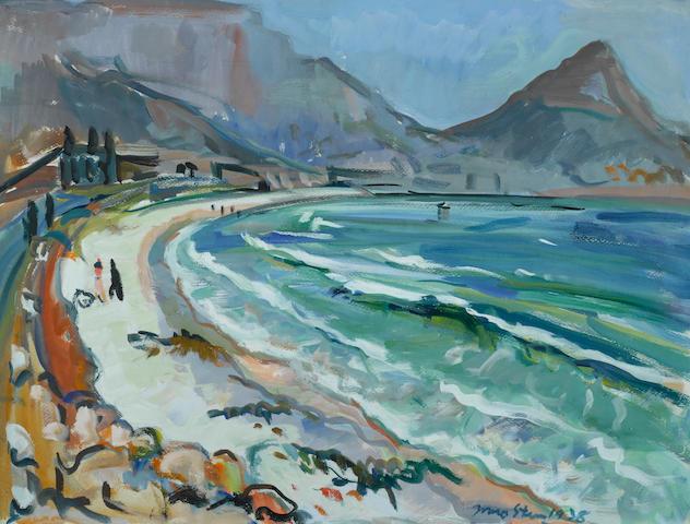 Irma Stern (South African, 1894-1966) Lion's Head from Lagoon beach