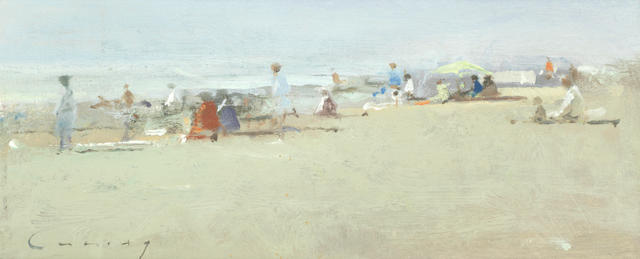 Frederick Cuming RA NEAC (British, born 1930) Camber Sands
