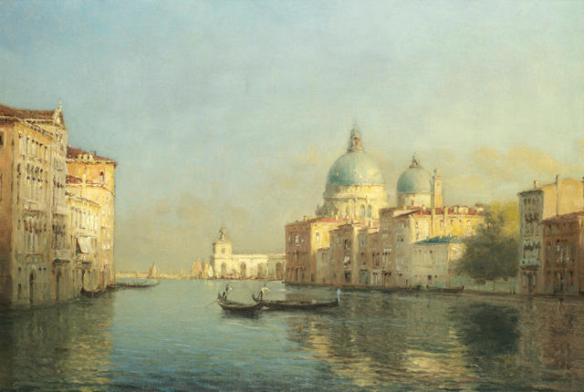 Antoine Bouvard (French, 1870-1956) The Grand Canal, Venice