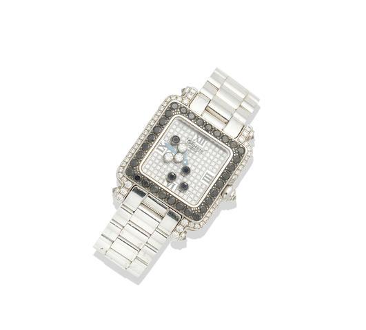A lady's 'Happy Sport' diamond watch, by Chopard
