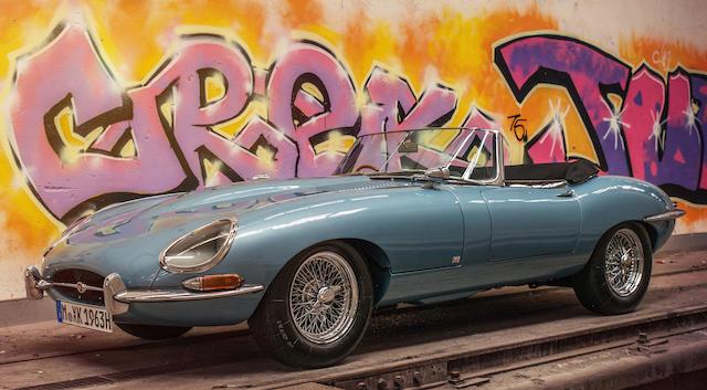 1963 Jaguar E-Type 'Series 1' 3.8-Litre Roadster  Chassis no. 879300