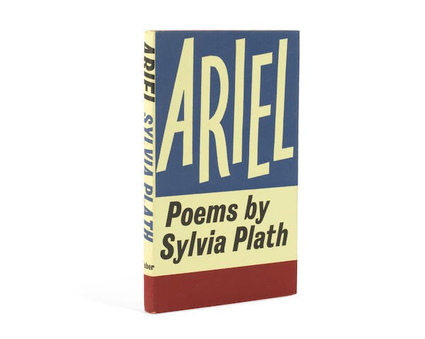 PLATH (SYLVIA) Ariel, FIRST EDITION, New York, Harper & Row, 1966; and copies of the first edition paperbacks (4)