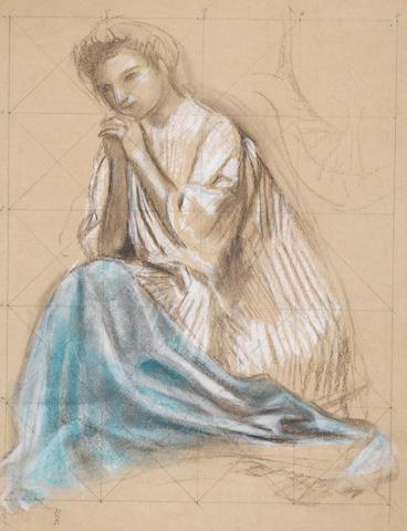 Maurice Denis (1870-1943) Ange agenouillé en prière (Executed circa 1901)