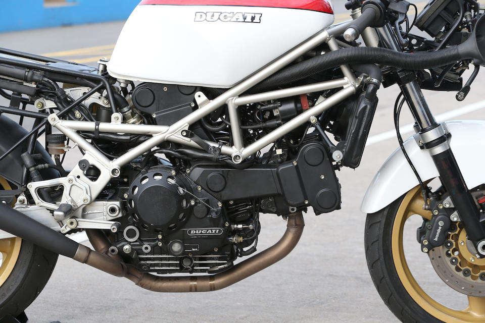 The property of Alan Cathcart, 1987 Ducati 851 'Superbike Edizione 11/1987' Racing Motorcycle Frame no. ZDM851S850009 Engine no. ZDM851W4B000445