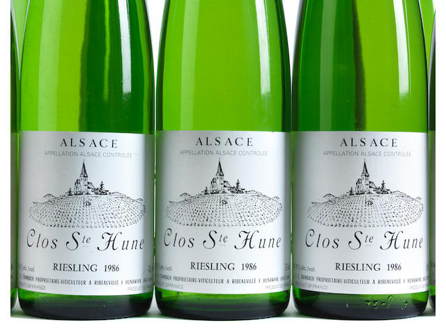 Riesling, Clos St Hune 1986, Trimbach (7)