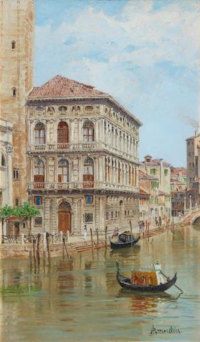 Antonietta Brandeis (Czech, 1849-1926) Manin Palace, Venice
