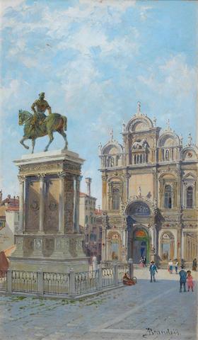 Antonietta Brandeis (Czech, 1849-1926) Colleoni Monument, Venice