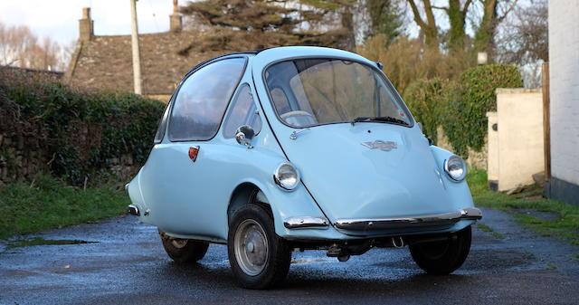1963 Heinkel Trojan 200 Micro Car  Chassis no. 10873