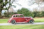 1936 Riley 9 Monaco Saloon  Chassis no. 5672330