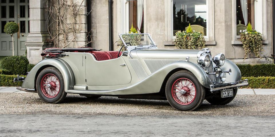 1936 Talbot BG110 Alloy-bodied Tourer  Chassis no. 4536