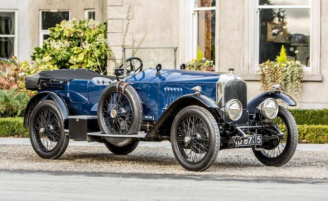 1921 Vauxhall 30/98 E Type Velox Tourer  Chassis no. E303