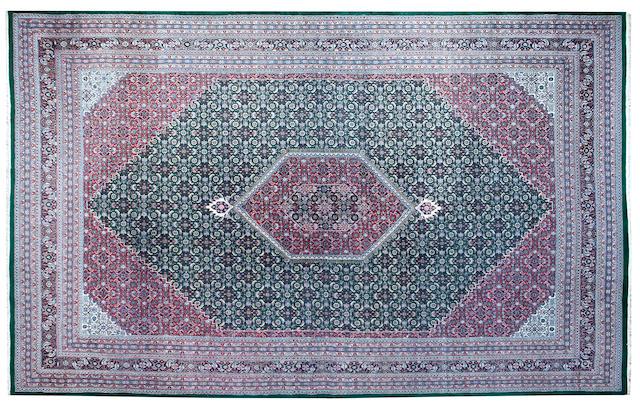 An Indian Bidjan design rug 564 x 377cm