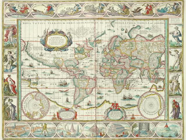 BLAEU (WILLEM and JOHANNES) Theatrum orbis terrarum, sive Atlas novus, vol. 1-3, Amsterdam, J. & C. Blaeu, 1644