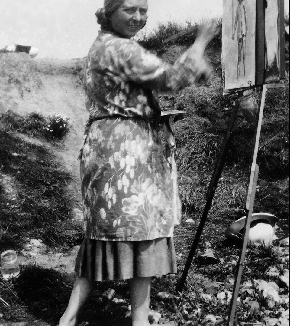 Dame Laura Knight, RA, RWS (British, 1877-1970) A Seaside Holiday