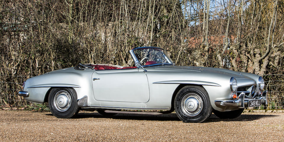 1961 Mercedes-Benz 190 SL Convertible with Hardtop  Chassis no. 12104020019159