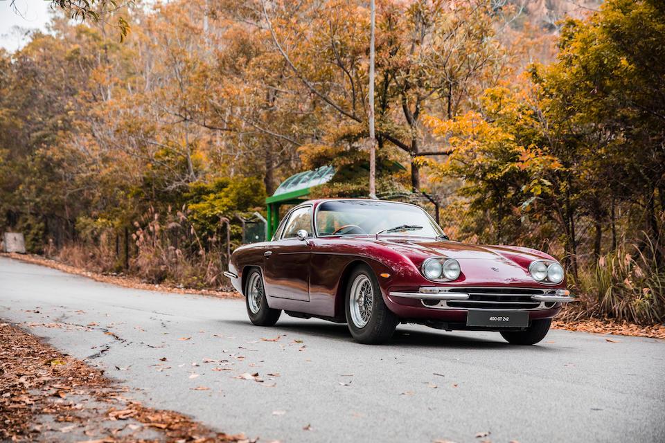 Originally the property of Sir Paul McCartney,1967 Lamborghini 400GT 2+2 Coupé  Chassis no. 1141