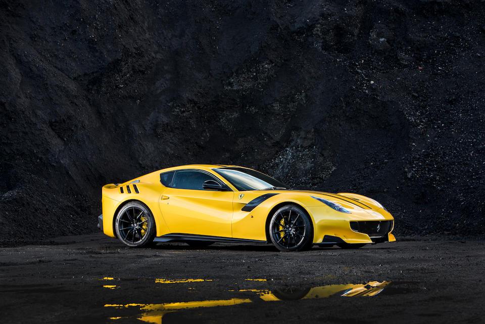2016 Ferrari F12tdf Berlinetta  Chassis no. ZFF81BHC000221524