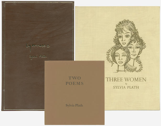 PLATH (SYLVIA) Three Women. A Monologue for Three Voices... With an Introductory Note by Douglas Cleverdon, NUMBER 164 OF 180 COPIES, 1980 (3)