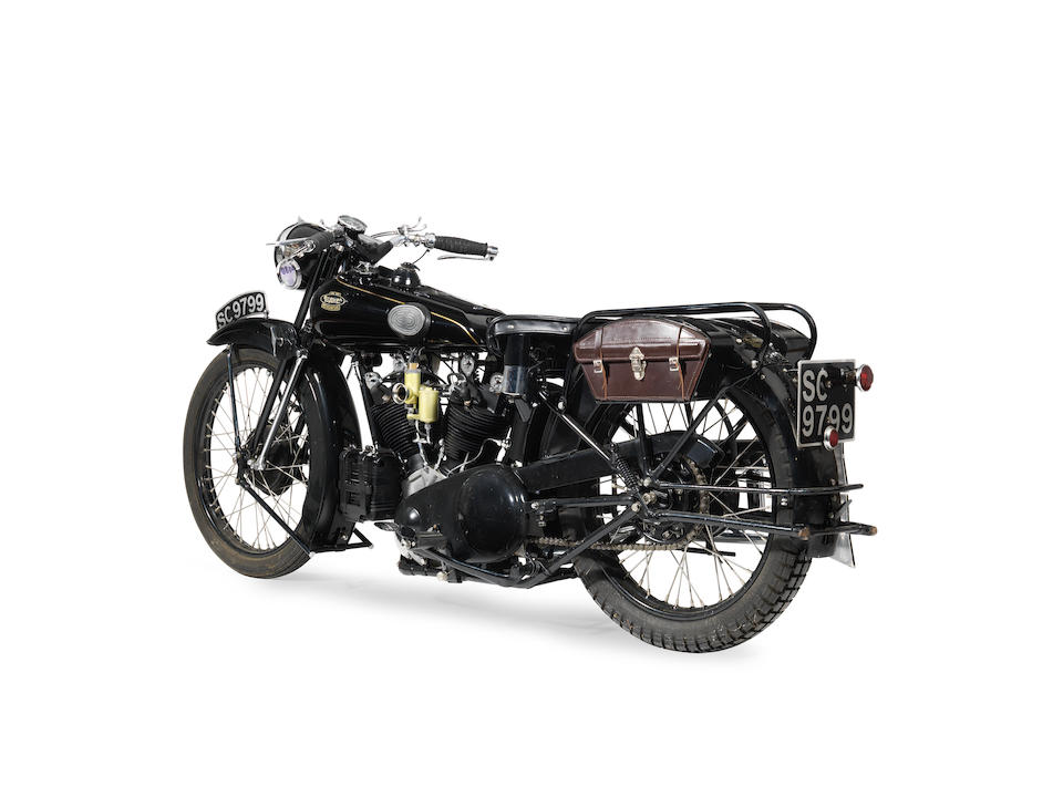 Proceeds to benefit the Search and Rescue Dog Association, Royal National Lifeboat Institution and Salvation Army, Ex-Edinburgh Police,1931 Brough Superior 981cc SS100 Frame no. 1038 Engine no. JTO/H 14361/S