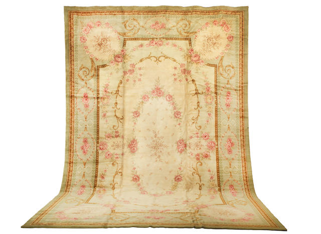 A Savonnerie carpet  France, 530cm x 360cm