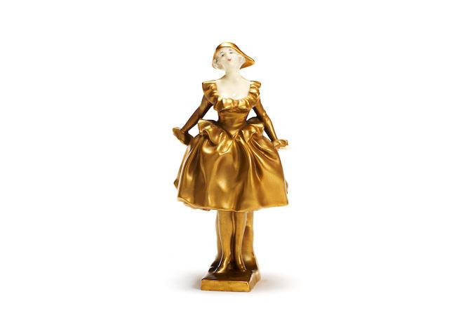 'Harlequinnade' a royal doulton figurine   HN 635, 1924-40