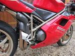 1998 Ducati 996cc 916SPS Frame no. ZDMH100AAVB000821 Engine no. ZDM916W4*000853*