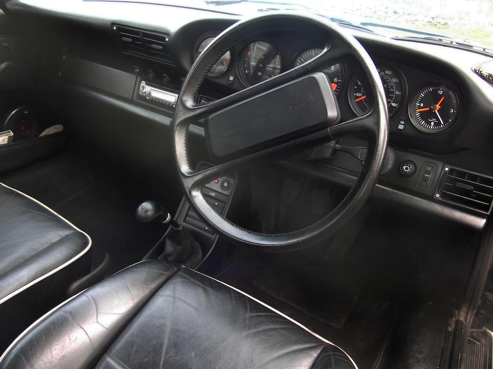 1988 Porsche 911 Carrera 3.2-Litre Targa Sport Coupé  Chassis no. WP0ZZZ91ZJS140504