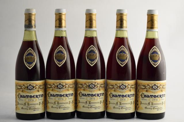 Chambertin 1976, Domaine Armand Rousseau (5)