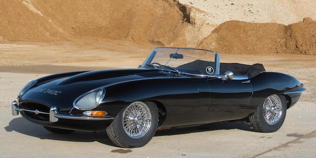 1965  Jaguar  E-Type series 1 4.2 OTS  Chassis no. 1E1294 Engine no. 7F30938