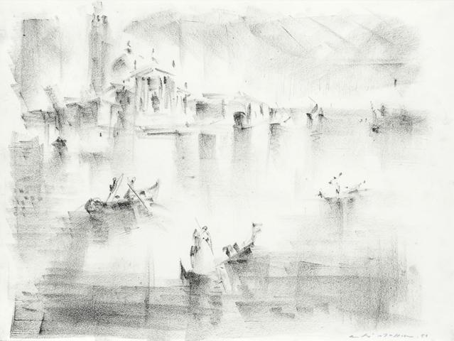 Andre Masson (French, 1896-1987) Vue de Venise