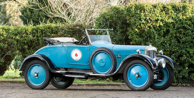 1928 AC Royal 12hp Drophead Coupé with Dickey  Chassis no. 31134