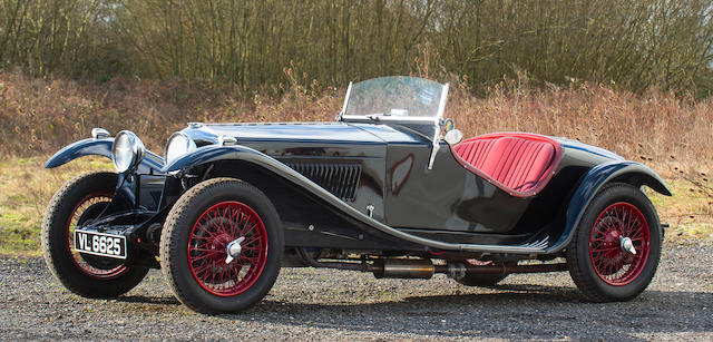 1935 Riley 12/4 Sports Special  Chassis no. 22T 1250