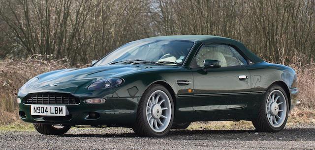 1996 Aston Martin DB7 Volante  Chassis no. SCFAA3117VK201076