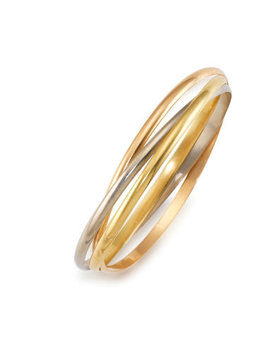 A 'Trinity de Cartier' Bangle, by Cartier