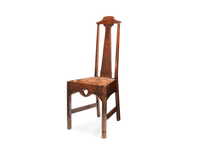 An Arts & Crafts Chair in the Glasgow Style; possibly for WYLIE & LOCHHEAD CIRCA 1910